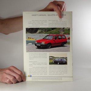 antikvární kniha Prospekt Opel 1991, 1990