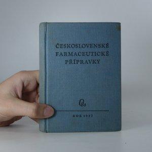 náhled knihy - Seznam přípravků vyráběných závody ministerstva zdravotnictví