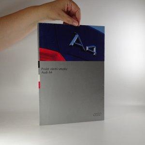 náhled knihy - Prospekt a plakát Audi A4