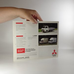 antikvární kniha Prospekt Mitsubishi Motors. Revue Herbst 1991, 1991