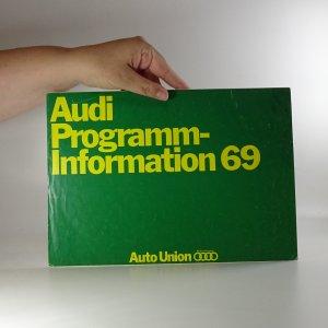 náhled knihy - Prospekt Audi Programminformation 69