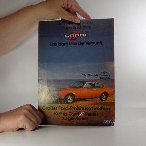 náhled knihy - Prospekt Ford Capri II.