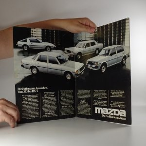 antikvární kniha Prospekt Mazda RX-7, neuveden