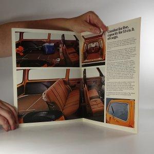 antikvární kniha Prospekt Volvo 245, neuveden