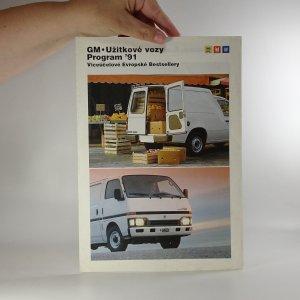 náhled knihy - Prospekt GM - užitkové vozy. Program 91