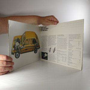 antikvární kniha Prospekt Toyota Starlet, neuveden