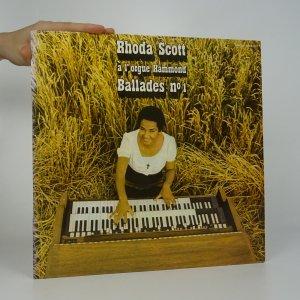 náhled knihy - Rhoda Scott: À L'Orgue Hammond, Ballades No. 1