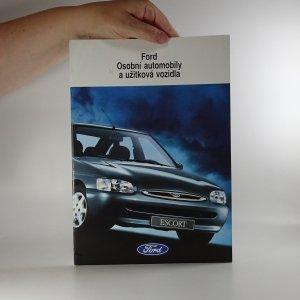 náhled knihy - Prospekt Ford Osobní automobily a užitková vozidla
