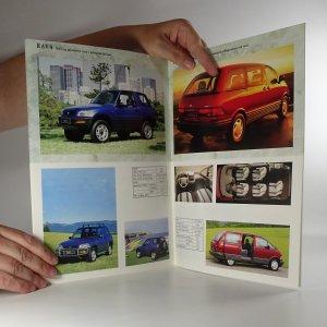 antikvární kniha Prospekt Toyota. Osobní, terénní a užitková vozidla, neuveden