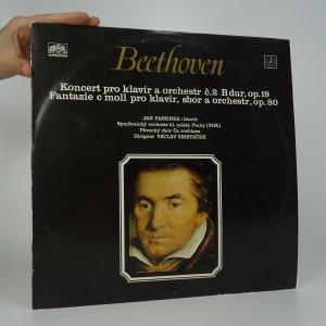 náhled knihy - Beethoven: Koncert pro klavír a orchestr č. 2 B dur; Fantazie c moll pro klavír, sbor a orchestr