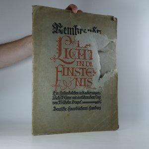 náhled knihy - Das Licht in der Finsternis (I.-VII. list, bez textu)