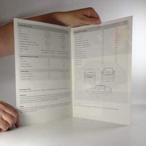 antikvární kniha Prospekt Toyota Corolla, neuveden