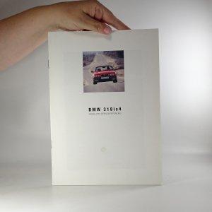 náhled knihy - Prospekt BMW 318is4. Model pro Českou republiku