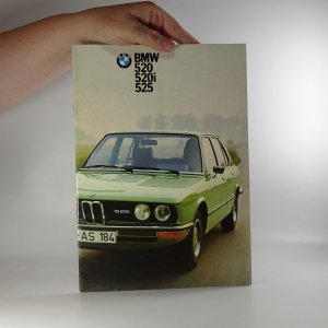 náhled knihy - Prospekt BMW 520, 520i, 525