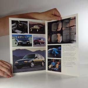 antikvární kniha Prospekt Saab 900 Series. The Tradition Continues, neuveden