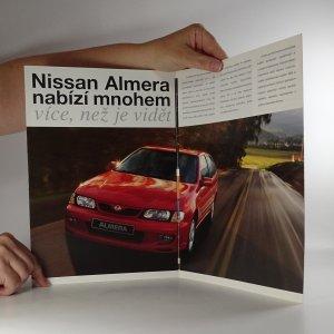 antikvární kniha Prospekt Nissan Almera, 1998