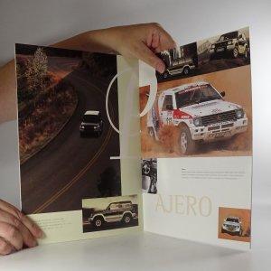 antikvární kniha Prospekt Mitsubishi Motors. Paleta vozů 95, 1995