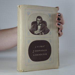 náhled knihy - J.V. Frič v dopisech a denících