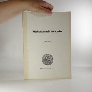 náhled knihy - Příručka ke studiu teorie práva