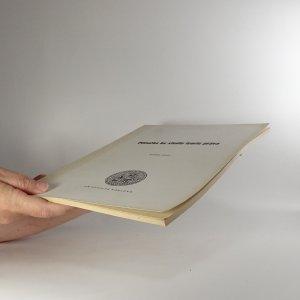 antikvární kniha Příručka ke studiu teorie práva, 1989