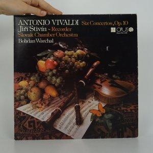 náhled knihy - Antonio Vivaldi: Six Concertos, Op. 10