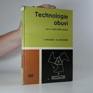 náhled knihy - Technologie obuvi