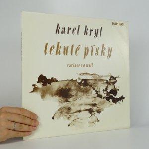 náhled knihy - Karel Kryl: Tekuté písky