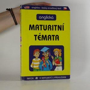 náhled knihy - Anglická maturitní témata