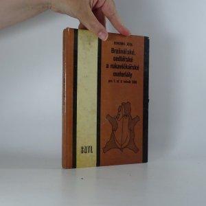 náhled knihy - Brašnářské, sedlářské a rukavičkářské materiály pro 1. až 3. ročník SOU