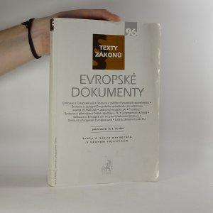 náhled knihy - Evropské dokumenty