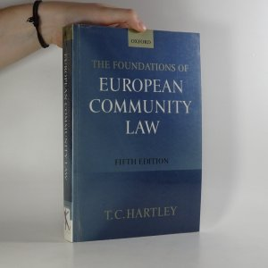 náhled knihy - The foundations of European Community Law (3rd Edition)