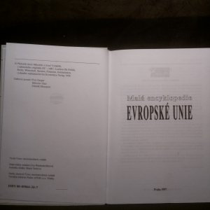 antikvární kniha Malá encyklopedie Evropské unie, 1997