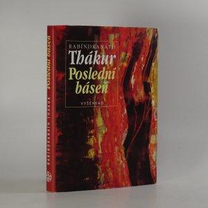 náhled knihy - Poslední báseň