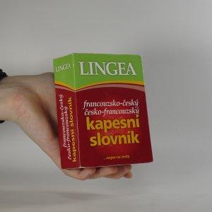 náhled knihy - Francouzsko-český, česko-francouzský kapesní slovník