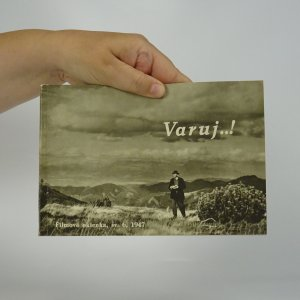 náhled knihy - Varuj.. ! Psychologické dráma zo života slovenských vysťahovalcov (Filmové okienka, sv.6, 1947)