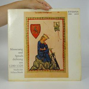 náhled knihy - Minnesang und Spruchdichtung um 1200 - 1320