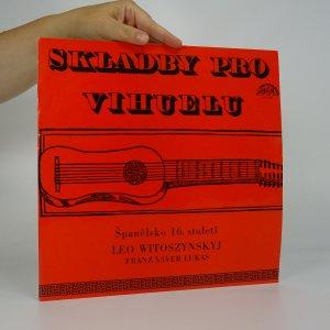 náhled knihy - Skladby pro vihuelu