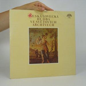 náhled knihy - Česká lovecká hudba ve světových archivech