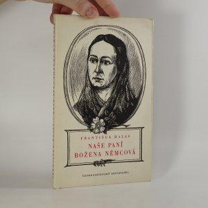 náhled knihy - Naše paní Božena Němcová