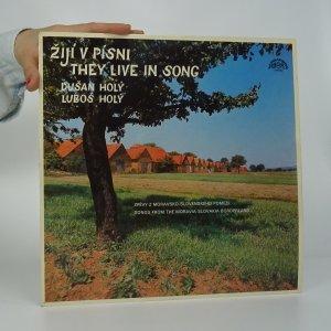 náhled knihy - Dušan Holý, Luboš Holý: Žijí v písni. They live in song