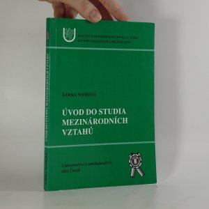 náhled knihy - Úvod do studia mezinárodních vztahů