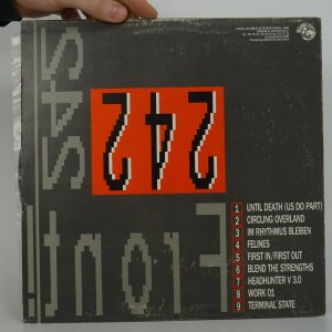 náhled knihy - Front 242: Front by Front