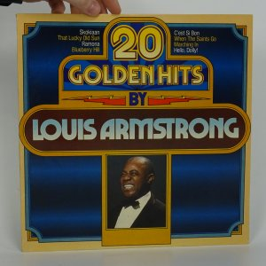 náhled knihy - 20 Golden Hits By Louis Armstrong