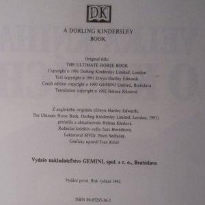 antikvární kniha Velká kniha o koních, 1992