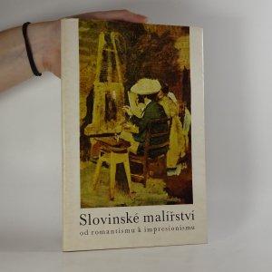 náhled knihy - Slovinské malířství od romantismu k impresionismu
