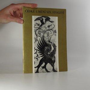 náhled knihy - České umění XIX. století