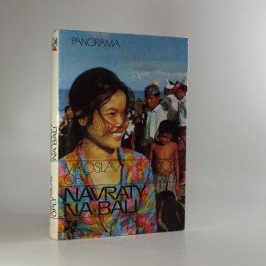 náhled knihy - Návraty na Bali