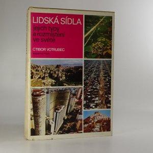 náhled knihy - Lidská sídla, jejich typy a rozmístění ve světě