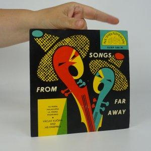 náhled knihy - Václav Kučera and his Ensemble: Song from far away