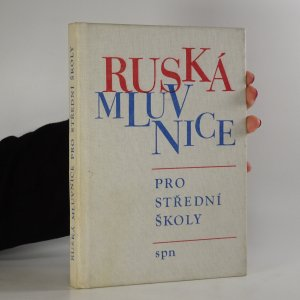 náhled knihy - Ruská mluvnice pro střední školy